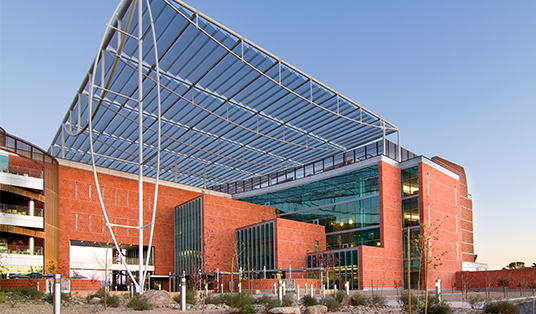 Exterior of Thomas W. Keating Bioresearch Building