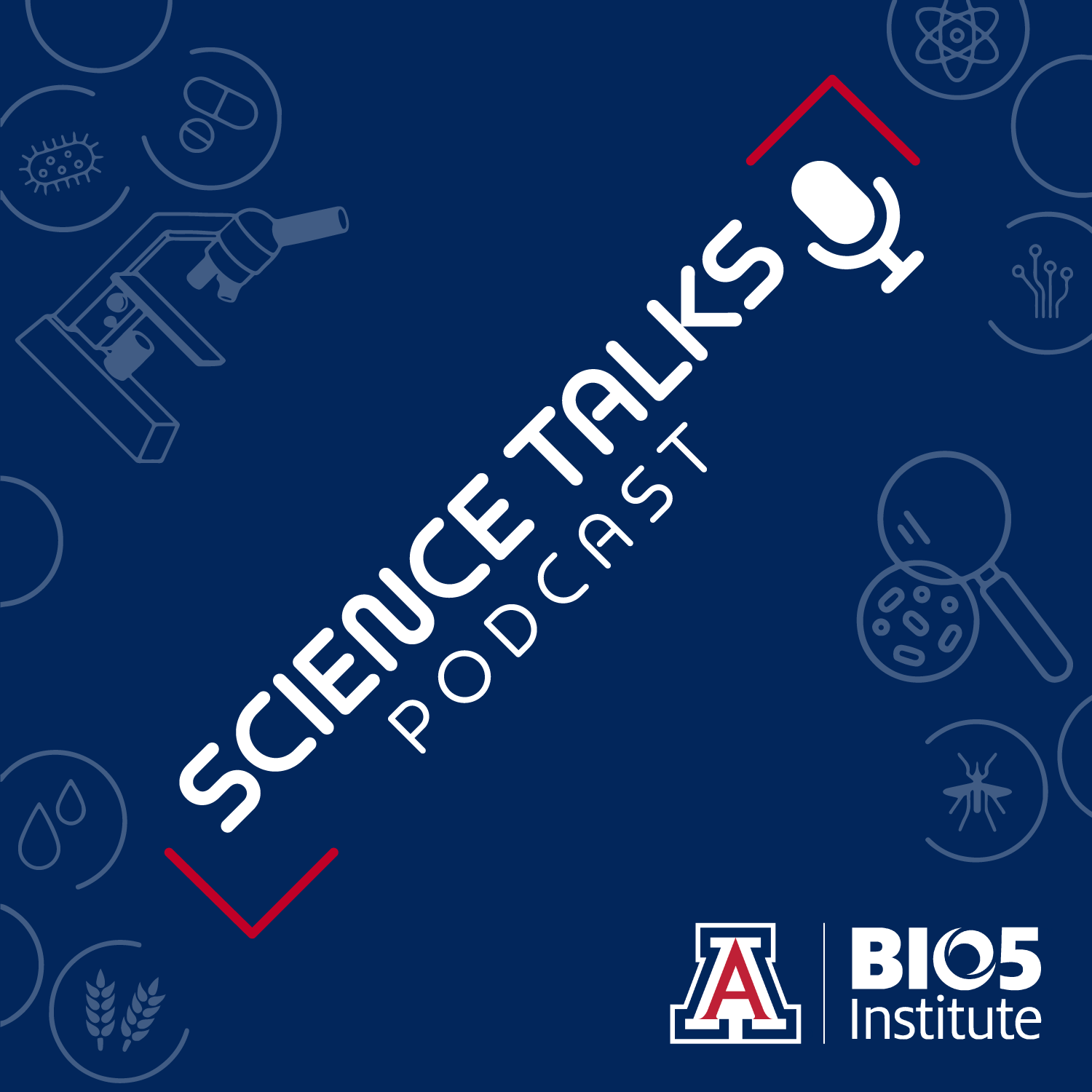 Science Talks Podcast graphic