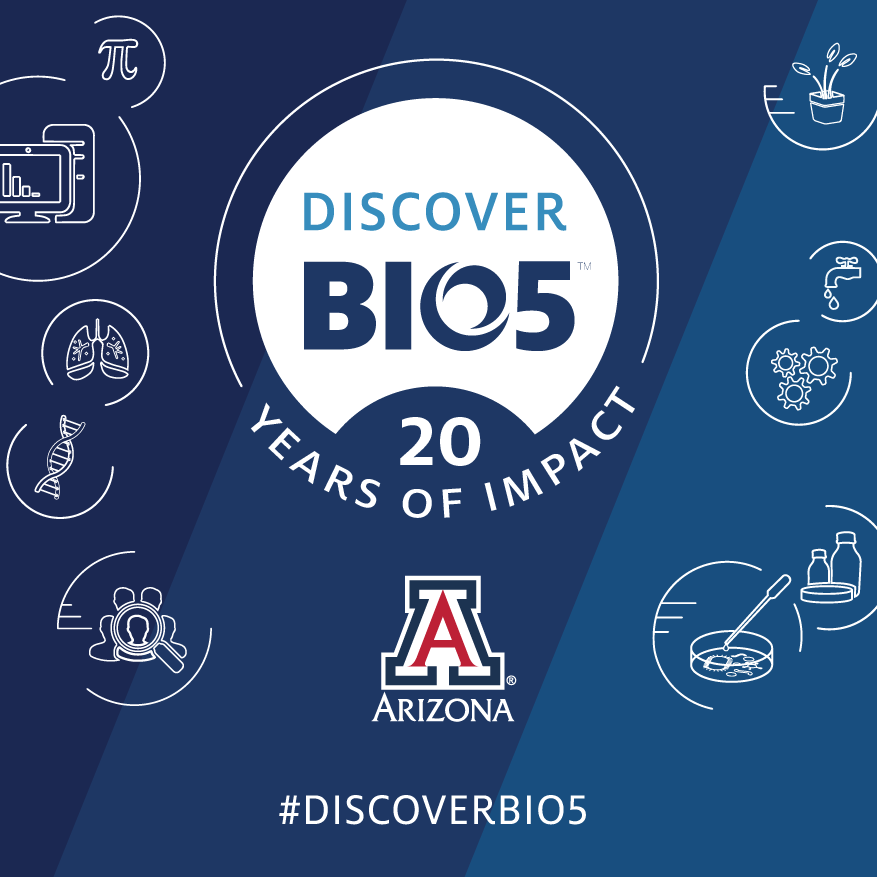 Discover BIO5 20 year graphic